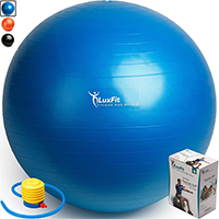 Luxfit Premium Extra Thick Yoga Ball