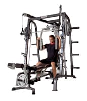 Marcy Diamond Elite Smith Machine Cage With Linear Bearings