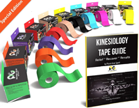 Physix Gear Best Kinesiology Tape For Sports (2 Inches X 16.5 Feet)