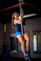 Usa Made Gym Climbing Rope White