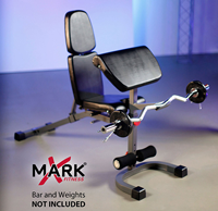 Xmark Fid Weight With Preacher Curl Bench