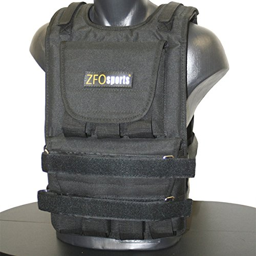 ZFOsports - 60LBS ADJUSTABLE WEIGHTED VEST