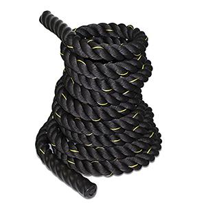 Zeny Black Battle Rope