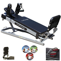 Pilates Power Gym 'pro' 3 Elevation Mini Reformer