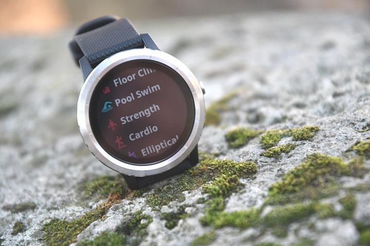 Garmin-Vivoactive-3-exercise-options-tracking
