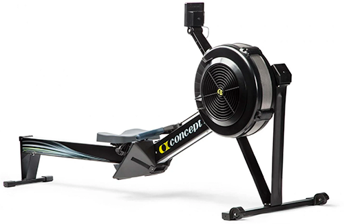 Black Concept 2 Model D Rower Best Overall Rower