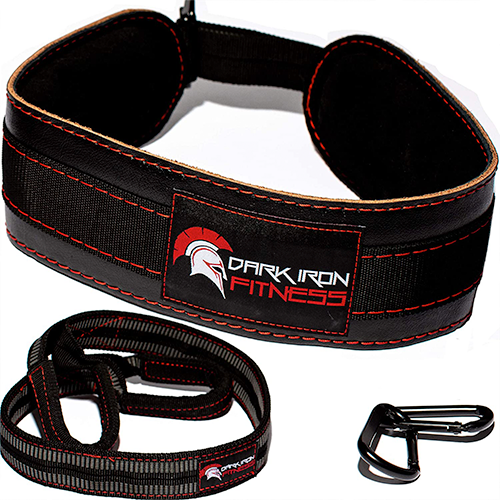 Dark Iron Fitness Leather Dip Belt Best Dip Belt With Strap